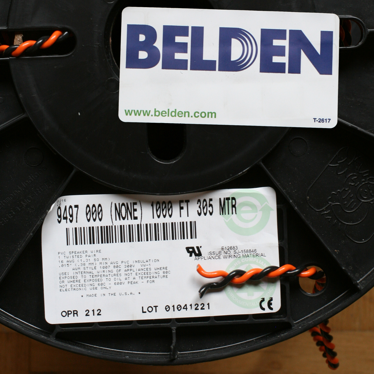 Cable Belden Shindo 9497