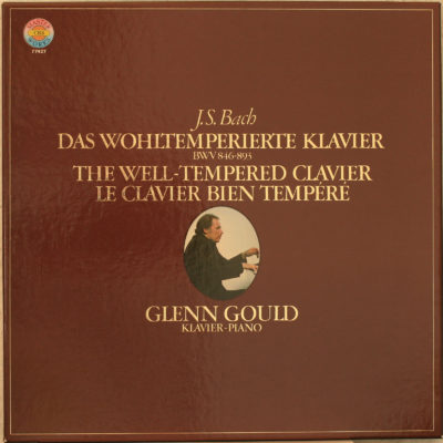 Bach Clavier Bien Tempere Gould