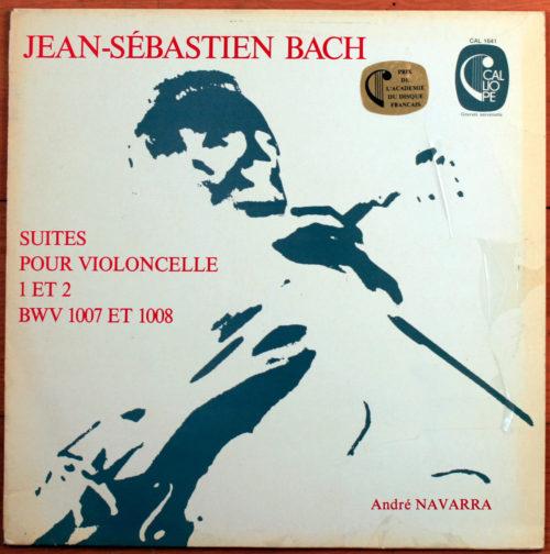 Bach Suites Violoncelle Navarra