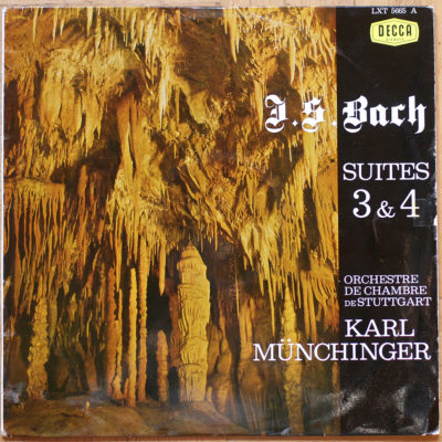 Bach Suites 3 & 4 Munchinger