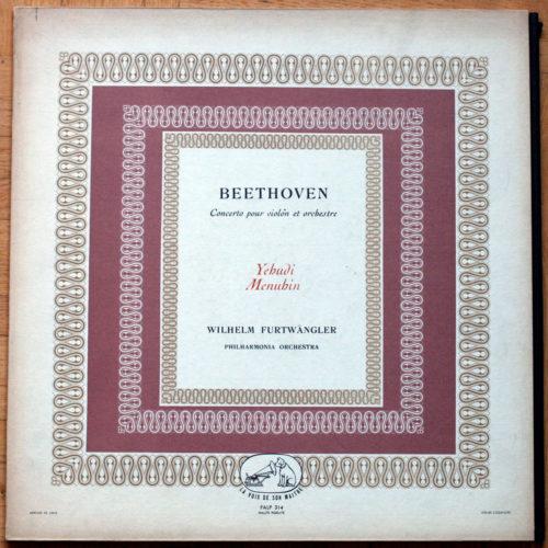 Beethoven_Concerto Violon Menuhin Furtwangler