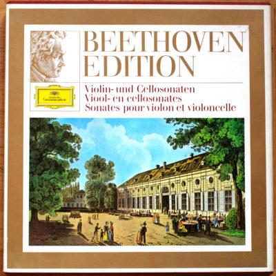 Beethoven Sonates pour violon et violoncelle