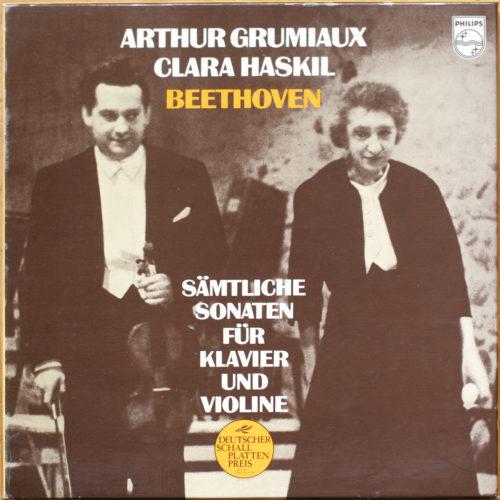 Beethoven Sonates Haskil Grumiaux