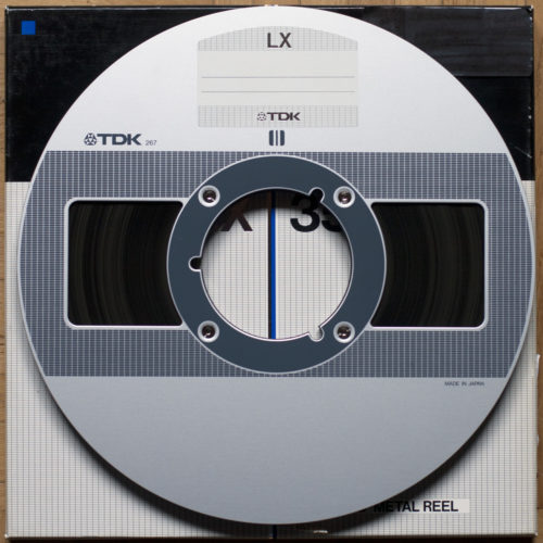 TDK LX 35/180 Bande magnétique 26.5 cm NAB