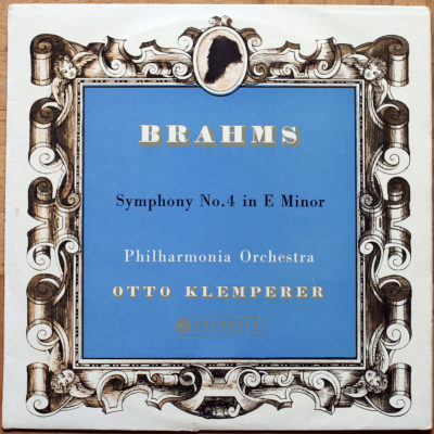 Brahms Symphonie 4 Klemperer