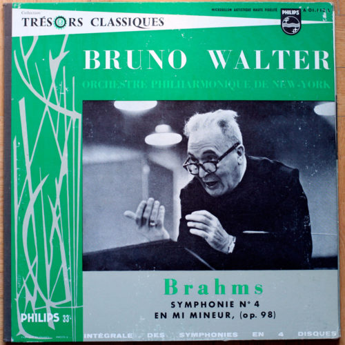 Brahms Symphonie 4 Walter