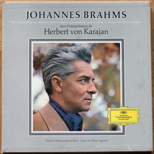 Brahms Symphonies Requiem Karajan Ferras