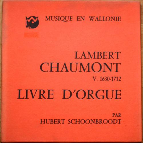 Chaumont Livre Orgue Schoonbroodt