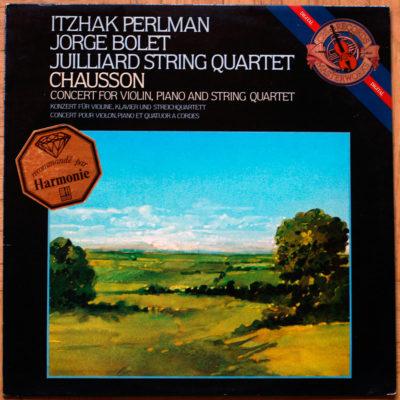 Chausson Perlman Bolet Juilliard