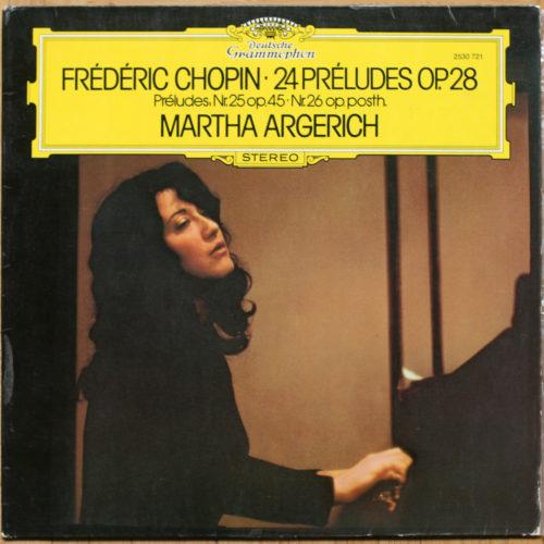Chopin Preludes Argerich