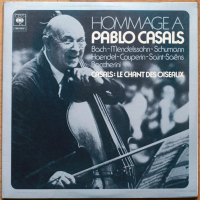 Casals Hommage Bach Couperin