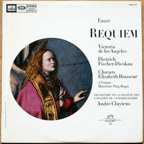 Faure Requiem Cluytens