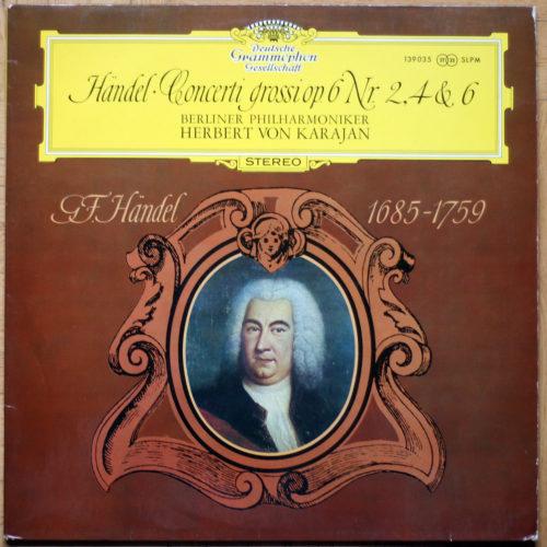 Händel Concerti Grossi 2 4 6 Karajan