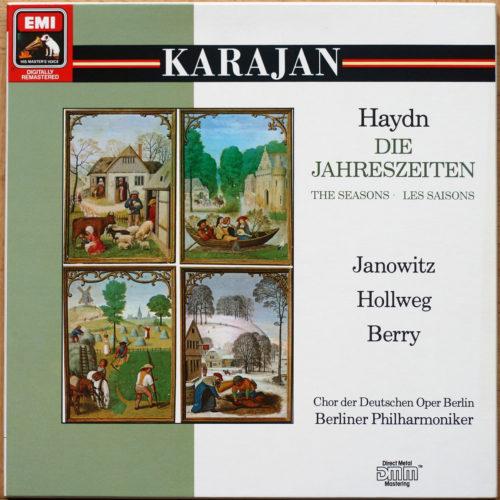 Haydn Saisons Jahreszeiten Karajan