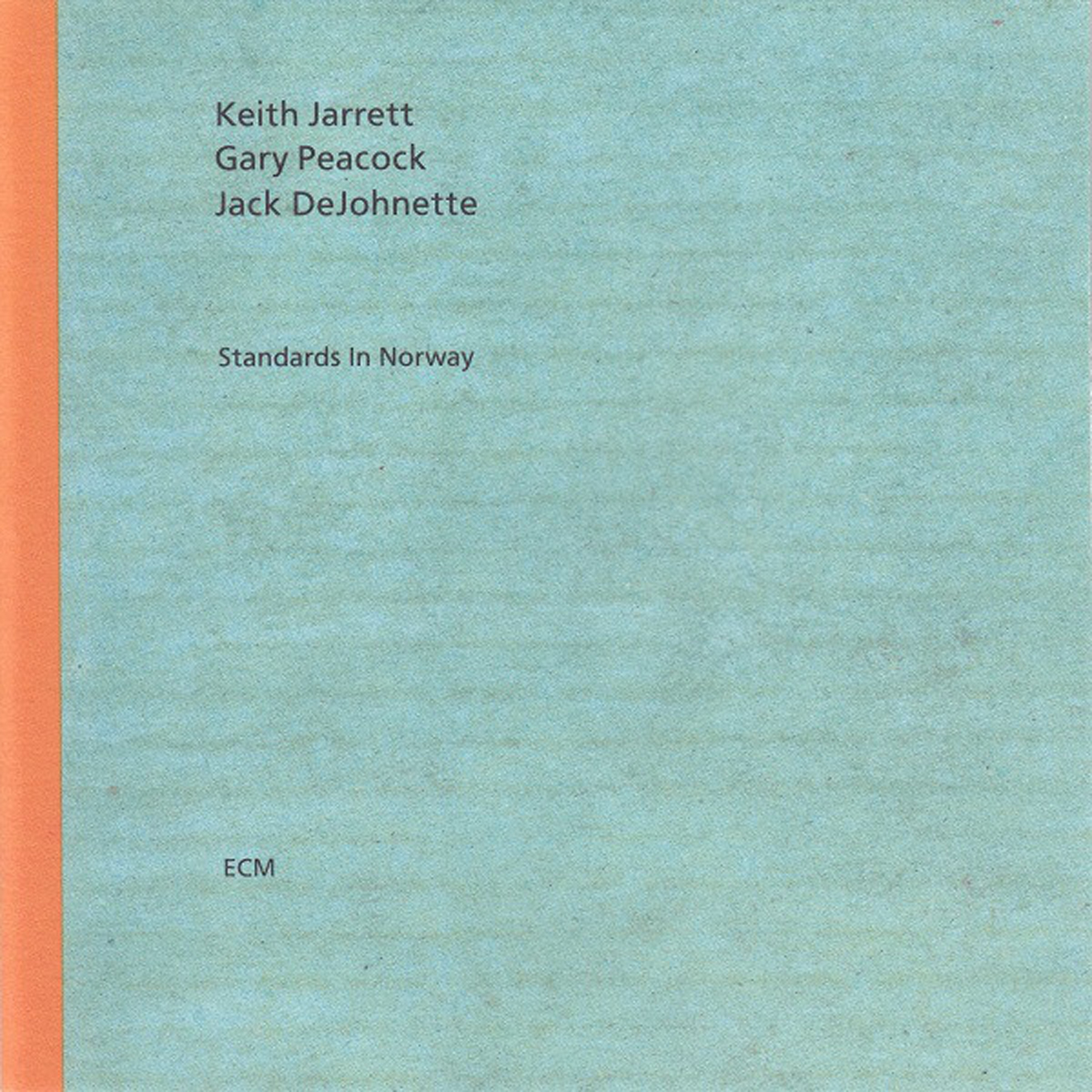 Jarrett Trio Standards Norway