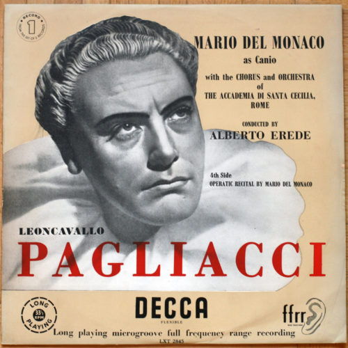 Leoncavallo Pagliacci Erede