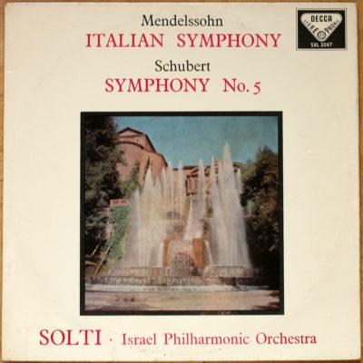 Mendelssohn Schubert Symphonies Solti