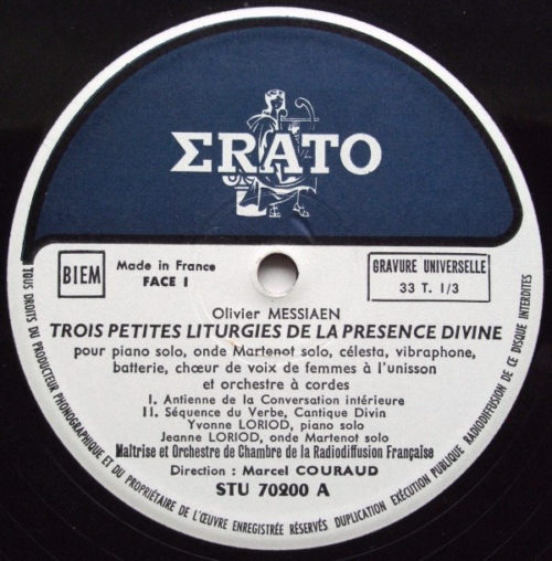 Messiaen Petites Liturgies