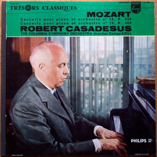Mozart Piano Casadesus Szell