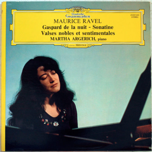 Ravel Gaspard Sonatines Argerich