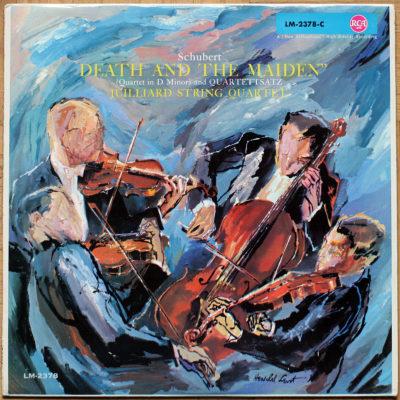 Schubert Quatuor 4 Juilliard