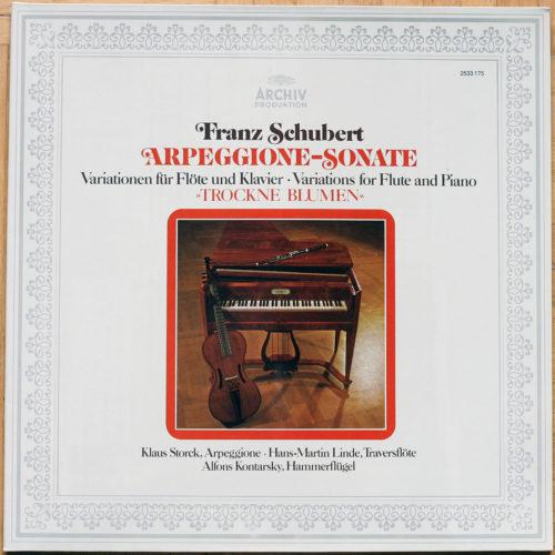 Schubert Arpeggione Kontarsky