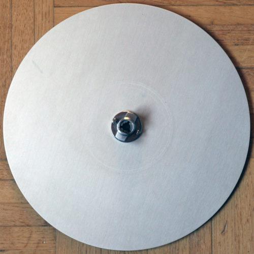 Aluminium pancakes plates Revox Studer