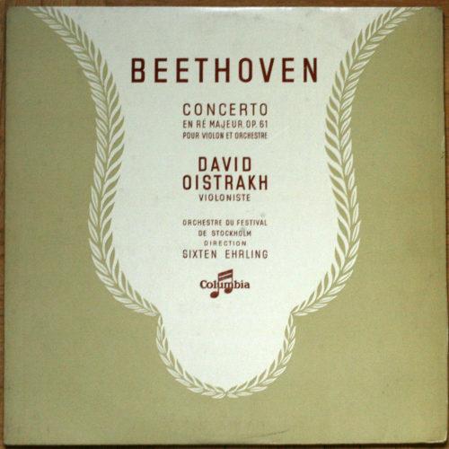 Beethoven Concerto Violon Oistrakh Erhling