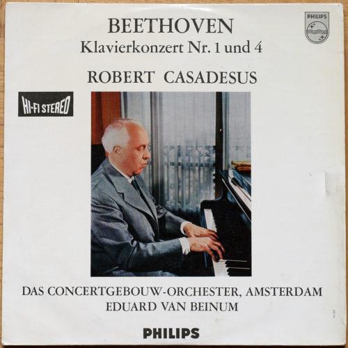 Beethoven Concertos Piano 1 & 4 Casadesus Beinum