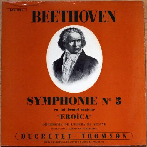 Beethoven Symphonie 3 Scherchen