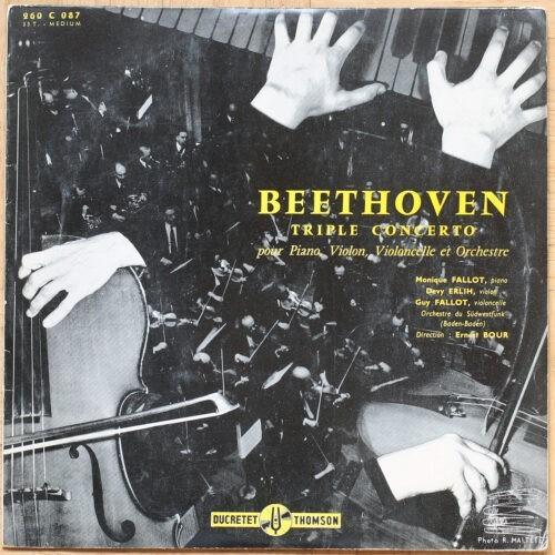 Beethoven Triple Concerto Erlih Fallot Bour
