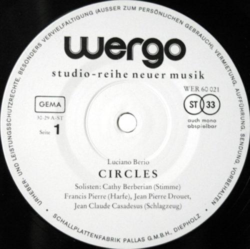 Berio Circles Sequenza