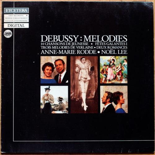Debussye Melodies Rodde Lee