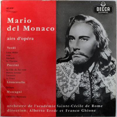Del Monaco Verdi Puccini