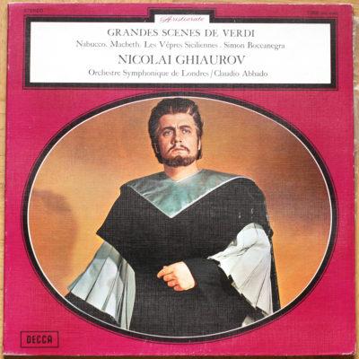 Ghiaurov Grandes Scenes Verdi