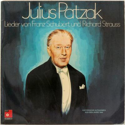 Schubert Strauss Lieder Patzak