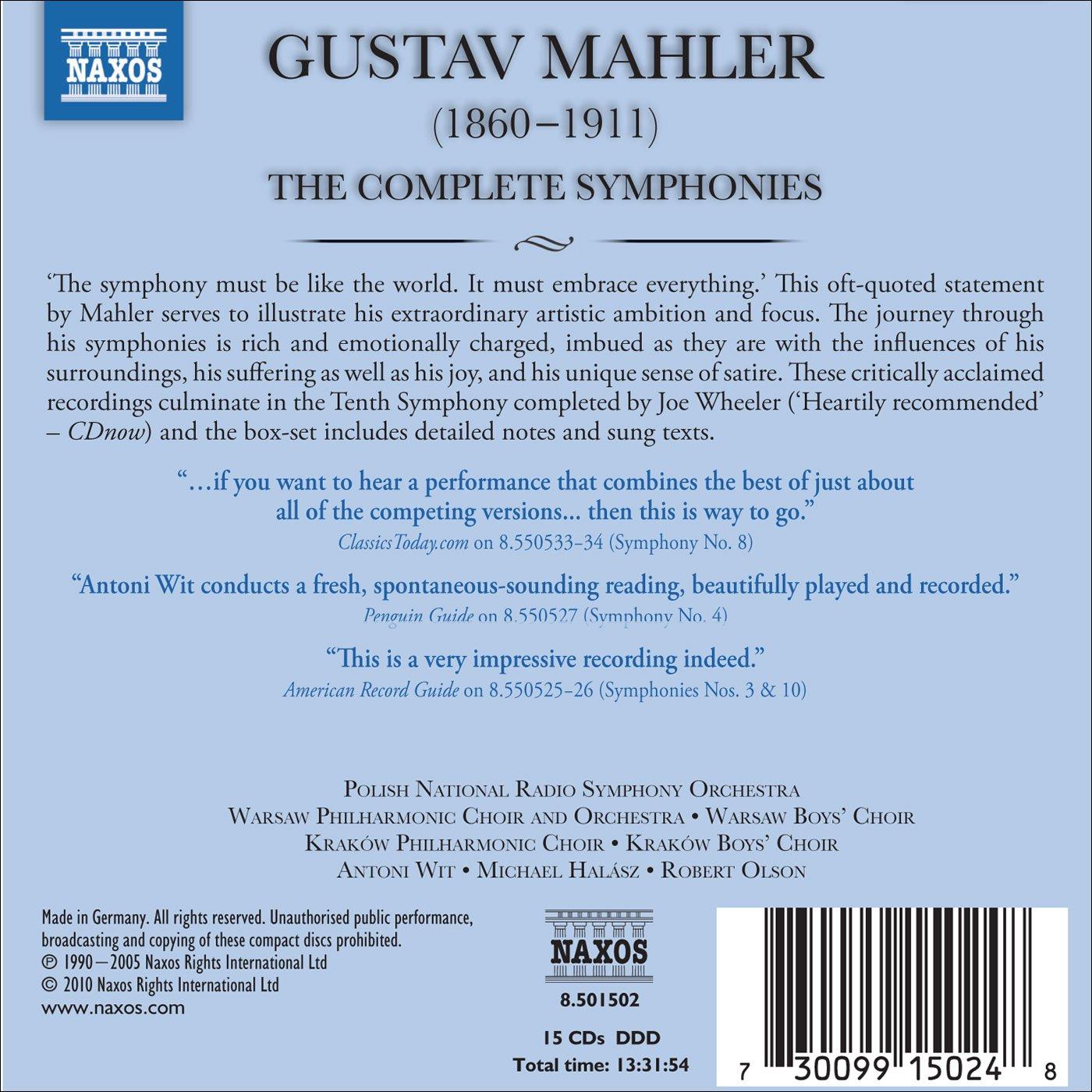 Mahler Complete Symphonies