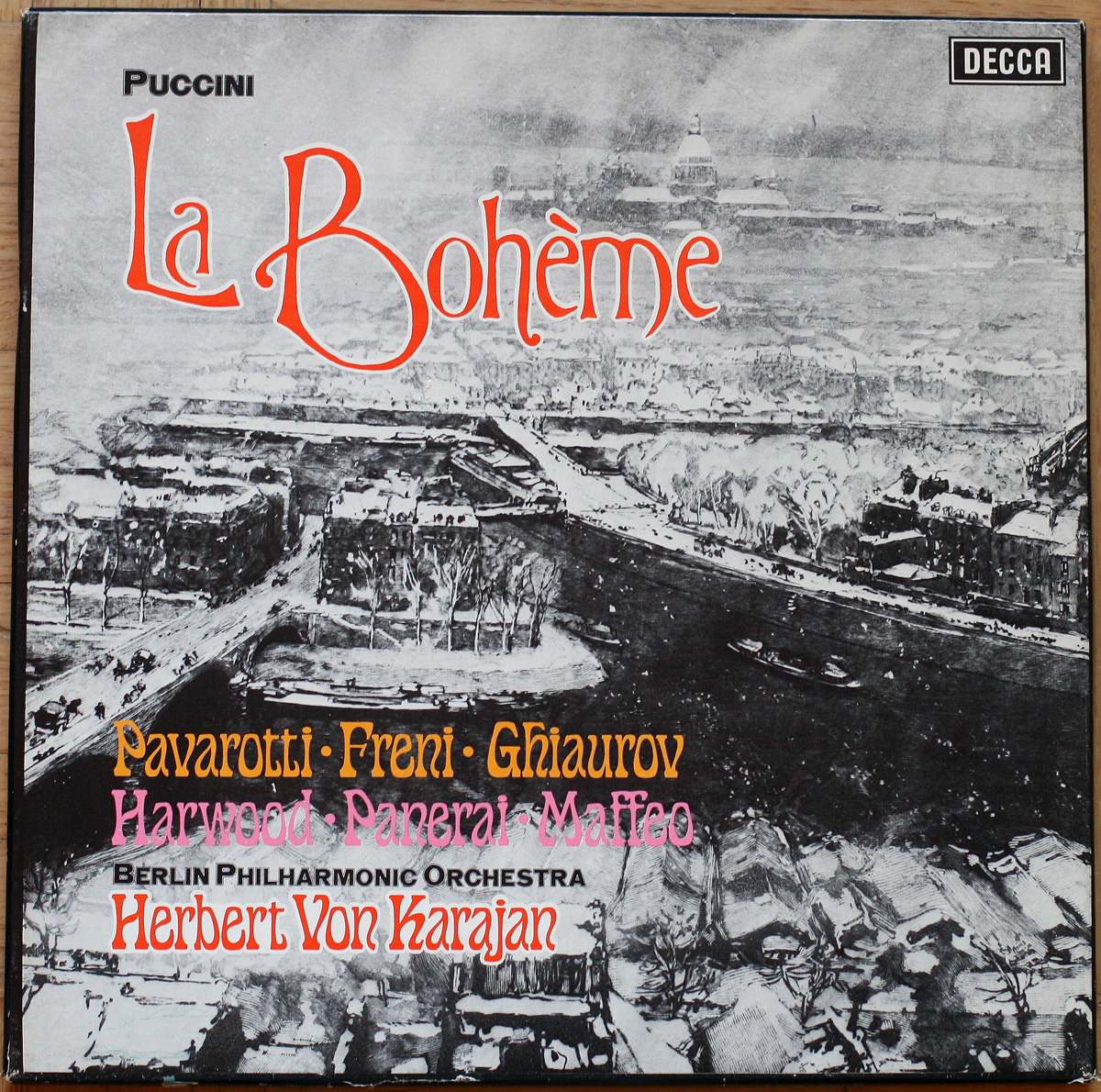 Puccini Boheme Pavarotti Karajan