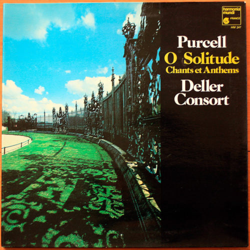 Purcell O Solitude Anthems