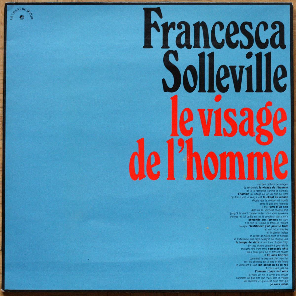Soleville Visage Homme