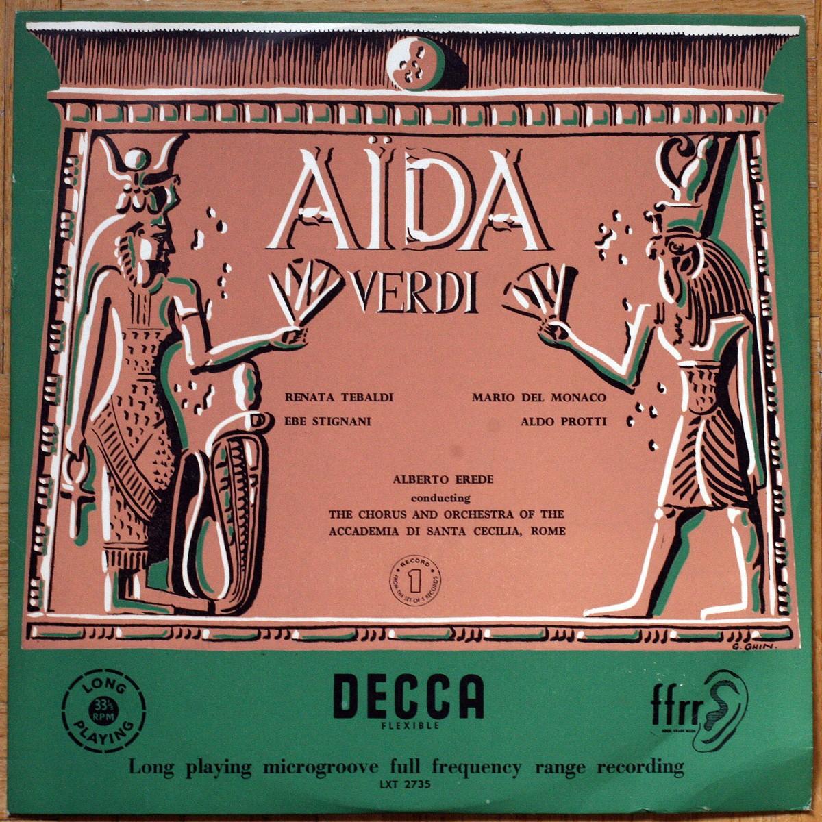 Verdi Aida Erede Tebaldi