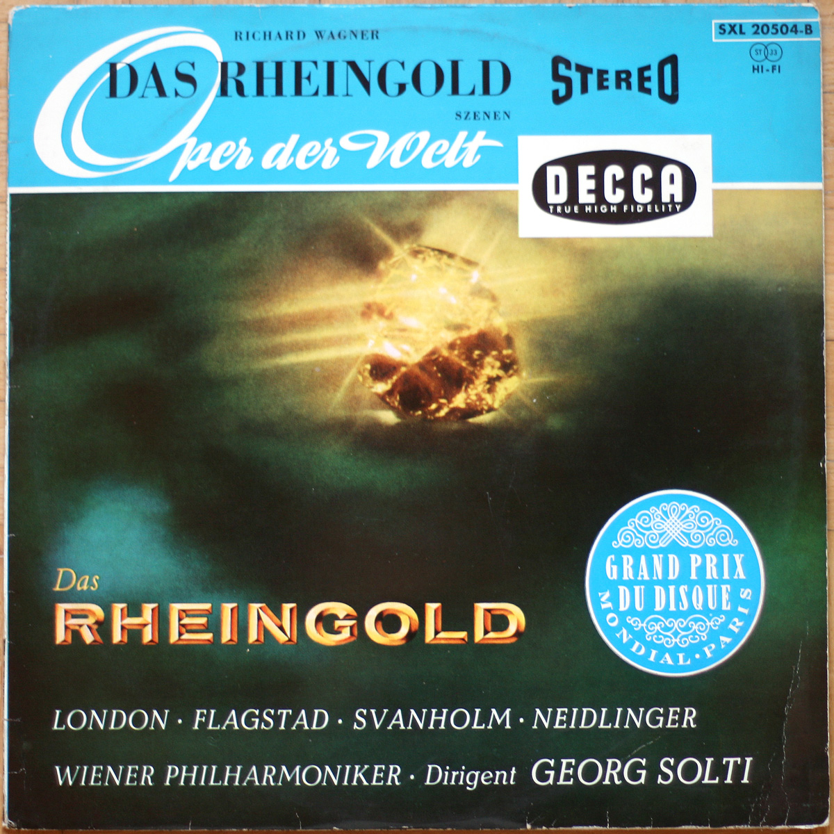 Wagner Rheingold Szenen Solti
