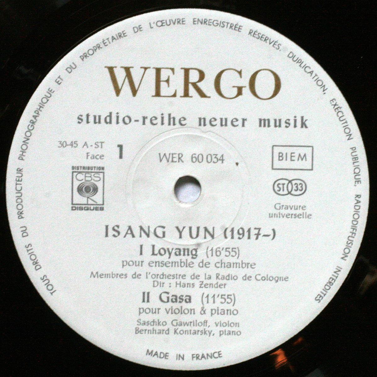 Yun Isang Loyang Gasa Reak