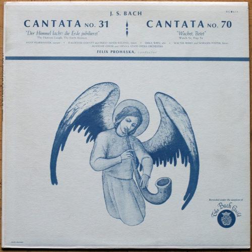 Bach Cantates Prohaska BWV 31 70