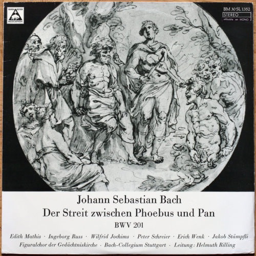 Bach Cantate Rilling BWV 201