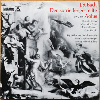 Bach Cantate Rilling BWV 205