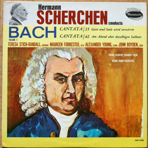 Bach Cantates Scherchen _BWV 35 42