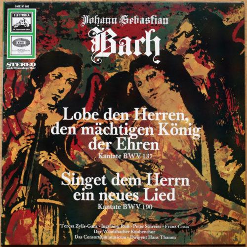 Bach Cantates BWV 137 & 190 Thamm