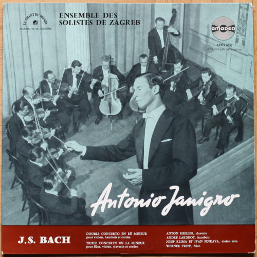 Bach Concertos Janigro BWV 1044 & 1060