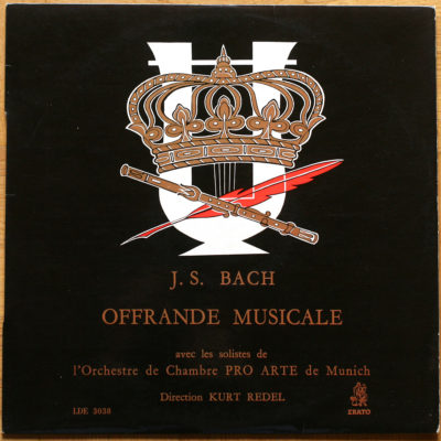 Bach Offrande musicale BWV 1079 Redel